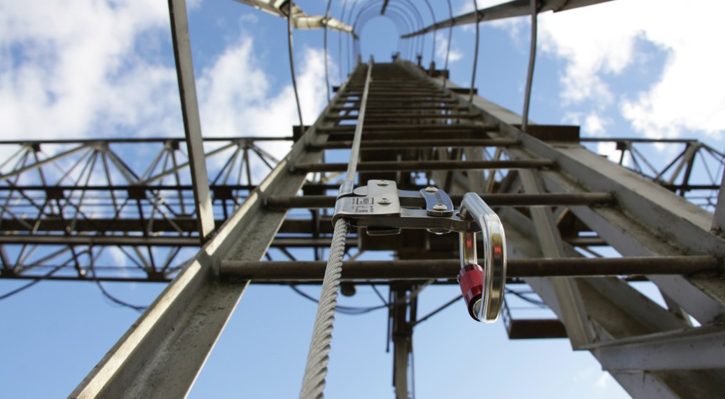 Вертикальная анкерная линия VERTIKAL   High Safety