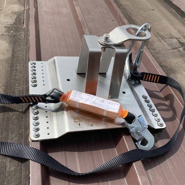 Анкерный столб AP-R10. Пример инсталляции | Анкерные столбы High Safety | Высота СЗ | Фото 3