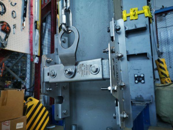 Анкерный столб STAND AP-R20-30/60. Инсталляция | Анкерные столбы High Safety | Высота СЗ | Фото 2