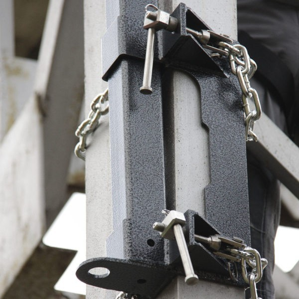 Анкерный столб AP-S200b. Установка базы | | Анкерные столбы High Safety | Высота СЗ | Фото 3