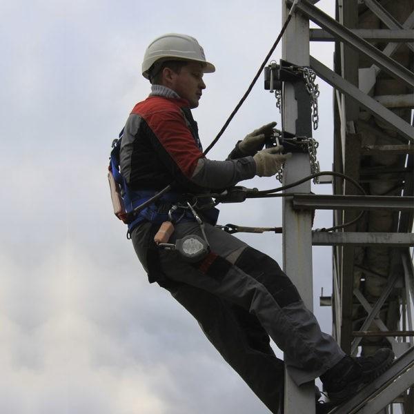 Анкерный столб AP-S200b. Работа пользователя | Анкерные столбы High Safety | Высота СЗ | Фото 5