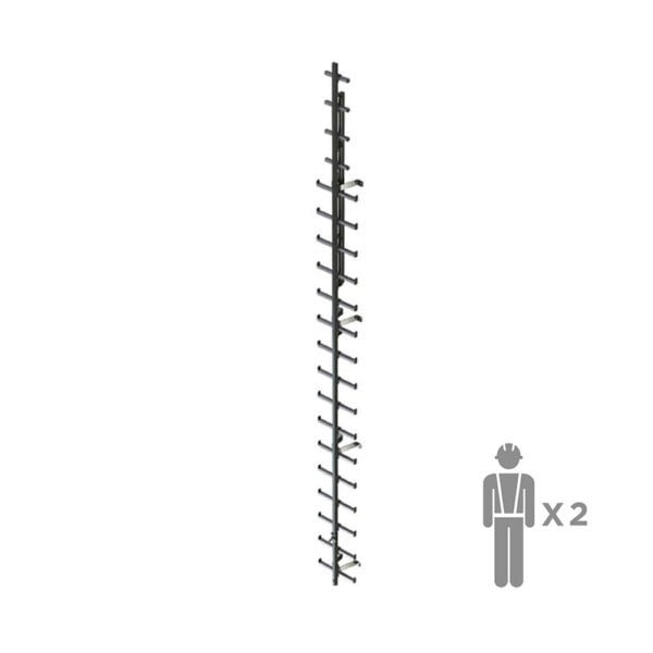 Вертикальная жесткая анкерная линия ZARYA | High Safety | Высота СЗ