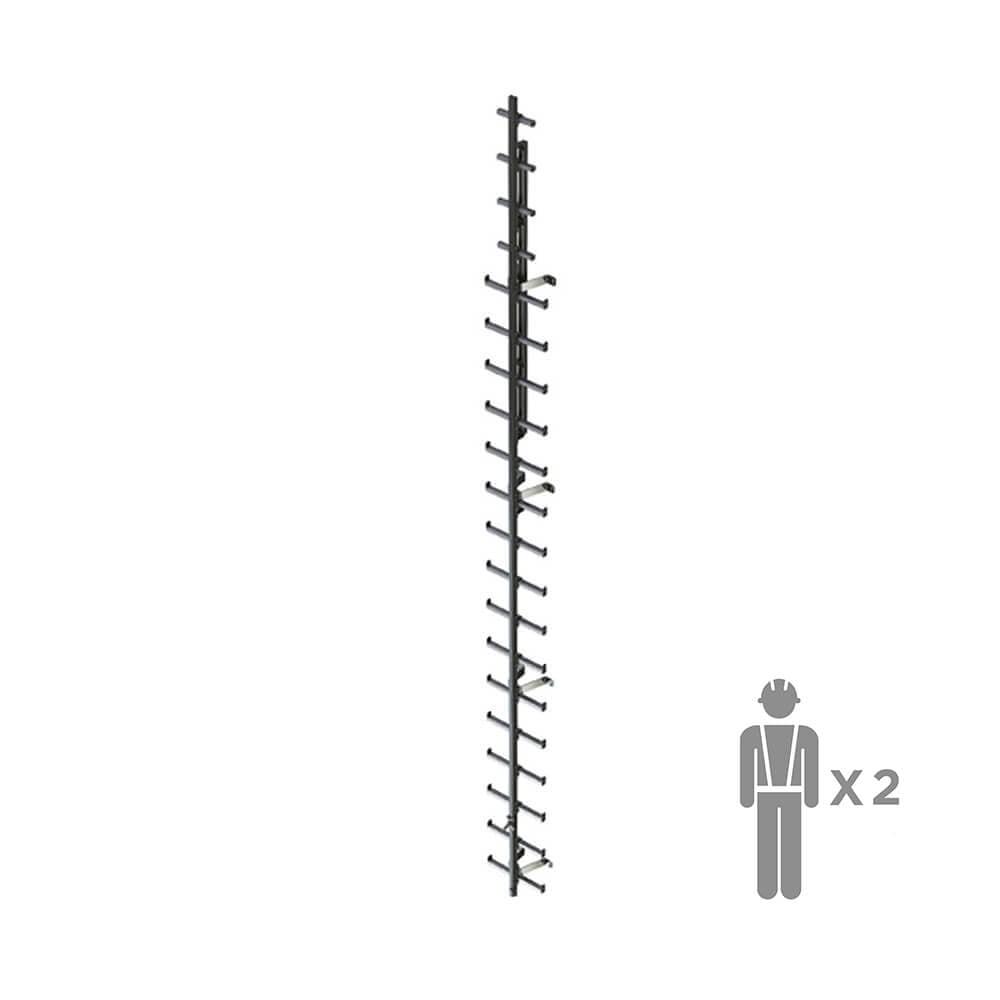 RVL200 | Вертикальная жесткая анкерная линия ZARYA | High Safety | Высота СЗ